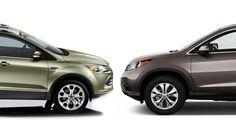 Ford Escape Vs. Honda CR-V: Compare Cars