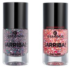 Essence: ¡Arriba! Essence Cosmetics, Makeup Makeover, Nail Accessories, Gelato, Voss Bottle, Nail Designs, Barbie, Nail Polish, Weight Loss