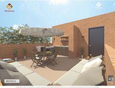 BBQ piso 8 Patio, Outdoor Decor, Home Decor, Apartments, Flats, Blue Prints, Decoration Home, Room Decor, Home Interior Design