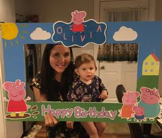 #peppa peppa photo frame