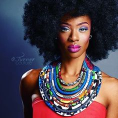 New African wax print jewelry  accessories collection by eturnercouturehellip