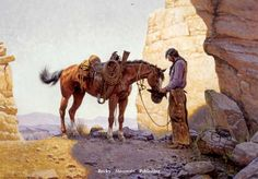 """""""Family First"""" by Clark Kelley Price Open Edition, Image Size 16x24 -Western Art"""