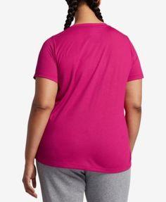 Nike Plus Size Futura Logo T-Shirt - Carbon Heather 2X