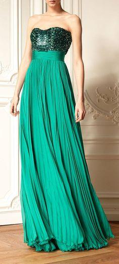 Zuhair Murad Resort 2013 - Prêt-à-porter Designer Evening Dresses, Evening Gowns, International Fashion Designers, High Fashion Dresses, Dress Vestidos, Stylish Eve, Tie Styles, Zuhair Murad, Couture Fashion