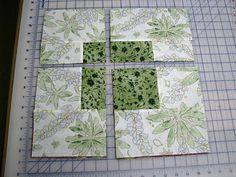Awesome stack n' whack method for changing up dimensions . . . #quiltblocks #qulit #quilting
