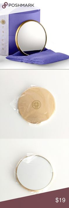 Tatcha Nozomi Hand Mirror Brand new in plastic packaging • Golden mirror only, as shown • NO Trade NO PayPal Tatcha Accessories