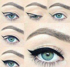 Step by Step - eyeliner.
