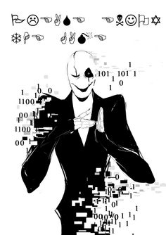Gaster, things went so wrong no one remembers him,  except for Sans and gasters followers.  I'm sorry...