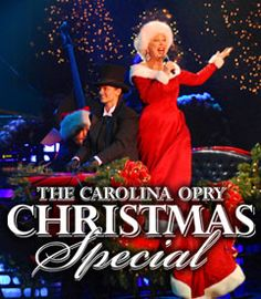 The Carolina Opry Christmas Special in Myrtle Beach, South Carolina brings the warm, wonderful, and fun spirit of Christmas to life with music, comedy and dance!