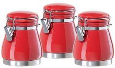 Vintage Kitchen Design on Red Kitchen Accessories  An Answer For Bolder Looks