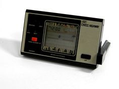 80s Retro Bandai LCD Game Watch Cross Highway (Cross Road) MIJ Great Condition #Bandai