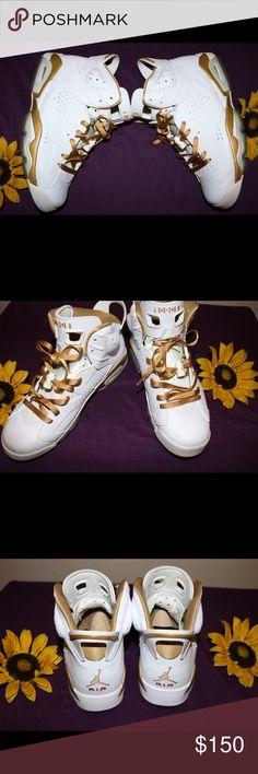 """quality design a1185 77a6e Rare Authentic Jordan Retro 6 """"Golden Moments"""" Air Jordan 6 """"Golden Moments"""""""