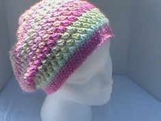Slouchy Hat Featuring Medadoras Creations Butterfly Stitch (+playlist)