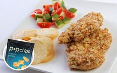 almond and popchips-crusted chicken breast #recipe #jillianmichaels #popchips #resolutions