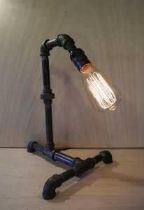 Industrial Vintage Look - 5 light Edison Bulb -...
