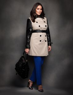 trendy plus size trench coats  | Wardrobe Essentials: How to Wear a Trench Coat - Lena Penteado