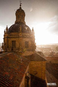 Vistas desde las Torres de la Clerecía Salamanca... #Spain