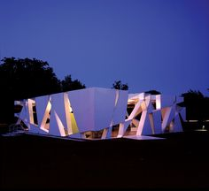Serpentine Gallery Pavilion, London, UK, 2002 - Cecil Balmond and Toyo Ito