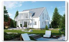 Magic - Magic 187 με δίριχτη στέγη 40 ⁰ - Προκατασκευασμένα σπίτια - Προκάτ - Ξύλινα σπίτια   ELK Efficient Houses