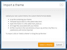 Weebly Tutorials from Webfire Themes - Check this simple to follow tutorial out on how to import a Weebly Template.
