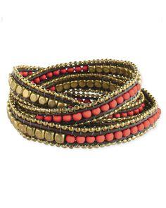 Taylor Nugget Wrap Bracelet