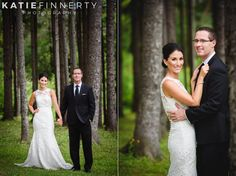 Bride and groom on their wedding day at the Mirbeau Inn and Spa, Skaneateles. Photographed by Rochester, NY wedding photographer Katie Finnerty Photography | http://www.katiefinnertyphotography.com/blog/2015.9.3.skaneateles-wedding-charise-mike