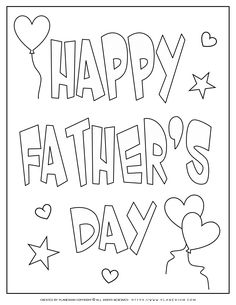 Free Coloring pages for kids but not only! Coloring pages for All seasons and Holidays, Immediate print, Unique design! Spring Coloring Pages, Cute Coloring Pages, Free Coloring, Colouring, Coloring Books, Father's Day Card Template, Card Templates, Free Printable Math Worksheets, Free Printables