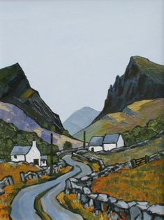 David BARNES - The Pass near Nantlle