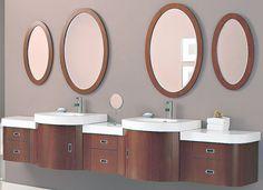 Banyo Ayna Dekorasyonu Fikirleri #Dekorasyon