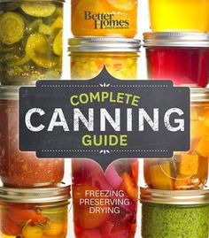 The must-have guide to the best of preserving, from canning and pickling, to fermenting, freezing, and drying; complete with…