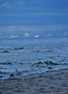 Jastarnia Baltic Sea, Blues, Coast, Polish, Mountains, Beach, Water, Travel, Outdoor