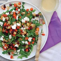 This warm salad is the perfect gluten-free or vegetarian lunch. It's made with carrots, beets and Dijon mustard.