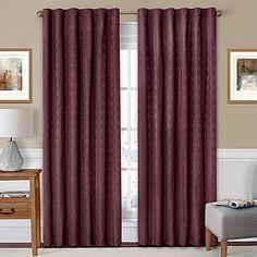 $50 http://www.bedbathandbeyond.com/store/product/solarshield-reg-holly-rod-pocket-back-tab-room-darkening-window-curtain-panel/3290797?categoryId=12198