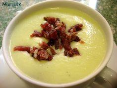 El Puchero de Morguix: Crema fría de melón y calabacín (Thermomix)