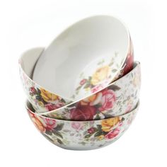 Country Rose Chintz Bowl (Set of 4)