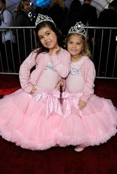 Two Cute for Words:  Thanks to Ellen.....these two adorable young ladies, are now part of the Hollywood scene:  Sophia Grace and Rosie