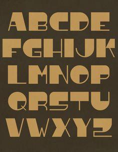 Madagascar font by Paul Bokslag
