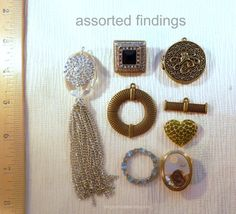 DESTASH assorted findings 50 cents plus by blingbychristine