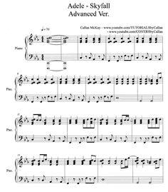 Skyfall - Adele Sheet Music