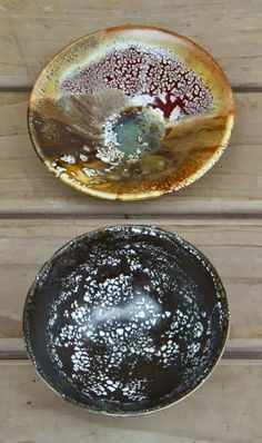Peter's Pottery: Ahhhhh Tenmoko, (Temmoko) and the art crazing, bubbling, and crawling!