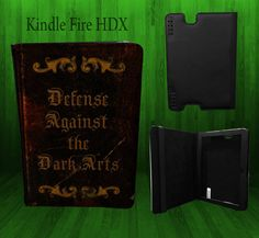 Harry Potter Inspired Kindle Fire Hdx  Defense Against the Dark by CustomizeMeAz, $30.00
