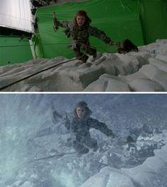 scenes de films avant apres effets speciaux game of thrones 5   Scènes de films avant après effets spéciaux   zombie twilight The Walking De...
