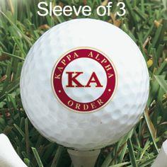Campus Classics - On Sale! Kappa Alpha Wilson TC2 Tour Imprinted Golf Balls: $7.95