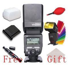 Yongnuo YN685 Wireless Flash Speedlite E-TTL 1/8000s for Canon 7D 7DII 5D 5DII #Yongnuo