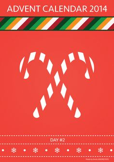 2nd Day: Candy cane