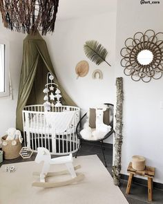 Reinvent your interior l Westwing - Discover our products and inspirations to decorate your child& room – Whether you want it c - Nursery Wall Decor, Baby Room Decor, Nursery Room, Girl Nursery, Bedroom Decor, Baby Bedroom, Baby Boy Rooms, Kids Bedroom, Cute Home Decor