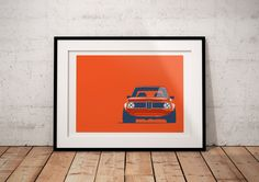 Cure Collection - BMW 2002 Poster
