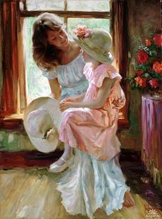 Searching for affordable Vladimir Volegov Painting in Home & Garden? Buy high quality and affordable Vladimir Volegov Painting via sales. Enjoy exclusive discounts and free global delivery on Vladimir Volegov Painting at AliExpress Vladimir Volegov, Painting Quotes, Artist Gallery, Fine Art, Renoir, Mothers Love, Mother And Child, Beautiful Paintings, Mail Art