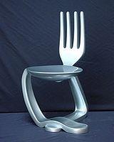 NetKulture : Chaise fourchette-cuillère