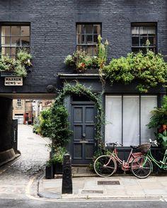 Warren Mews, the most instagram-ed mews in London.